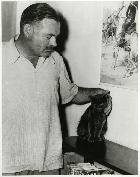From Carlene Fredericka Brennen, Hemingway's Cats. An Illustrated Bioraphy, 2006